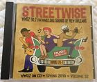 WWOZ Sounds of New Orleans Cd Vol. 32 Spring 2010 Streetwise (Rare)