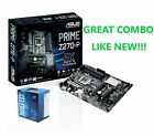 GREAT COMBO SALE ASUS PRIME Z270 P LGA1151 Motherboard With Intel CPU G3930