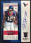 2013 Panini Contenders Football Rookie Ticket Autographs Short Prints 12