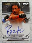 2013 Topps UFC Knockout Autographs Guide 53