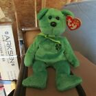 TY Beanie Baby - DUBLIN the Irish Bear - with tag - Retired - Collectible