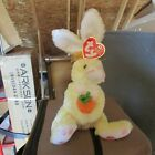 TY Beanie Baby - NIBBLIES the Yellow Bunny Rabbit - w/ Tag-RETIRED