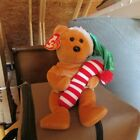 TY Beanie Baby - TASTY the Holiday Bear - retired - collectible