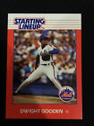 DWIGHT DOC GOODEN ROOKIE RC ODD BALL STARTING LINEUP NY METS 1988 BASEBALL CARD