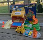 Vintage 1988 Fisher Price Little People Play Family SCHOOL HOUSE w box NICE