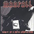 Manfall Waste of a New Generation CD Rock Punk 10TRACKS w/Unwanted, Johnny Law +