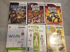 Lot of 6 Nintendo Wii Games Guitar Hero Call of Duty Wii Fit Biggest Loser