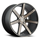 Niche 20 Verona M150 Wheel Black Machined 20x9 5x120 PCD +35mm Offset