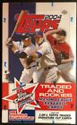 2004 Topps Traded and Rookies Baseball Hobby Box FACTORY SEALED