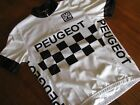 PEUGEOT by Santini RETRO short sleeve cycling jersey Size XS