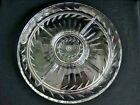 Indiana Glass Clear Pressed 13 3/8 inch Laurel 5 Part Divided Relish Dish 1940's