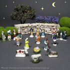 Vintage French Feves Provence Miniature Crche Santons Nativity Figurines 20