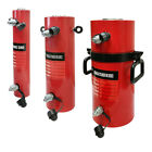 Double Acting 20 Ton Hydraulic Cylinder 12 Stroke Jack Ram 18 Closed Height