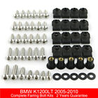 For BMW K1200LT 2005-2010 Complete Fairing Bolt Kit Body Screws Stainless Steel