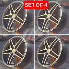 NEW 18 x 95 AMG S65 GUMENTAL MACHINED FACE RIMS WHEELS FITS MERCEDES BENZ GLK