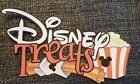 Disney treats title printed scrapbook page die cut