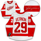 Mike Vernon Detroit Red Wings Autographed White Fanatics® Replica Hockey Jersey