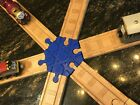 6 Way Wood Train Track Adapter Thomas the Tank - Brio - IKEA - PICK YOUR COLOR!