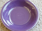 Fiesta Ware Mulberry Fruit Bowl New Never Used HTF Purple - Scratched
