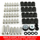 For BMW R1250RT R1200RT 2005-2013 Complete Fairing Bolt Body Screw Fasteners Kit