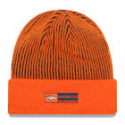 NEW ERA Denver Broncos Tech Knit Lined Cuffed Beanie Hat ORANGE Crush 11288979