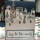 House Cutting Dies Stencil DIY Scrapbooking Paper Christmas Card Embossing Decor