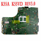 For Asus A55A K55A R500A Motherboard Mainboard K55VD 60 N89MB1301 Test