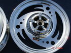 Harley Chrome VROD VRSCA VRSCB 02-06 Custom Cut  3 Spoke Wheels  Exchange Only
