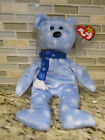 TY Beanie Baby Original 1999 HOLIDAY TEDDY RARE RETIRED MINT w/ Label Protector