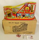 CHEIN 275 1ST EDITION 1949 TIN LITHO WIND UP ROLLER COASTER EX IN ORIG BOX