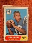 1968 Topps Football Cards 7