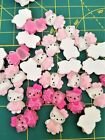 Hello Kitty Resin Beads Cabochon Flatbacks Kawaii Charms 10 Pc