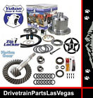 JEEP DANA 35 YUKON AIR ZIP LOCKER 27 SPLINE 4.56 RING AND PINION GEAR PKG