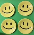 4  FIESTA Homer Laughlin YELLOW SMILEY HAPPY FACE 9
