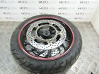 BMW F 800 S 06 front wheel rim with tyre & rotors discs