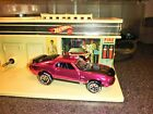 HOT WHEELS VINTAGE SERIES IN NEAR MINT CONDITION CUSTOM 1968 PINK MUSTANG MACH 1