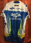XL 5 La Mondiale AG2R Team UCI PRO TOUR Cycling Jersey BH Cycle COOLMAX Used 1x