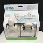 Martha Stewart TRIPLE CHAIN Large Punch Around the Page Paper Punches Set