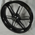 G0110.02A8BYT, NEW Buell Front Villian Black Wheel, All XB'S & 1125's