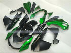 New Fairing Fit for Kawasaki Z1000 2010-2013 Black Green Injection Molding s#06