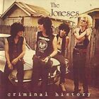 Criminal History CD by The Joneses Sympathy For The Record Industry 1988