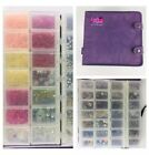 Craft Mates Lockables Storage Organizer Containers Book + Full Beads Jewelry 925