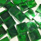 1 EMERALD ICE SILVERCOAT MIRROR Stained Glass Mosaic Tiles 150 PIECES