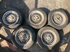 Genuine Rover SD1 Vitesse Alloy Wheels Set of 5
