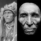 Standing Cloud Oglala Sioux Life Mask Cast Very Rare Native American Life Mask