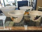 Vintage Fire King GAY FAD Fruit Set Of 4 Nesting Mixing Bowls