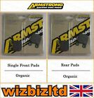 Armstrong Complete Brake Pad Kit Sherco Trials 1.25cc (2T) 1999-05 BK111935
