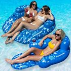 Swimline Tropical Double And Tropical Chair Swimming Pool Floats Combo Pack
