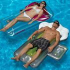 Swimline Glass Of Red and Beer Mug Swimming Pool Floats Combo Pack