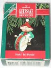 HARK! IT'S HERALD DRUM HALLMARK KEEPSAKE ORNAMENT #2 IN SERIES 1990